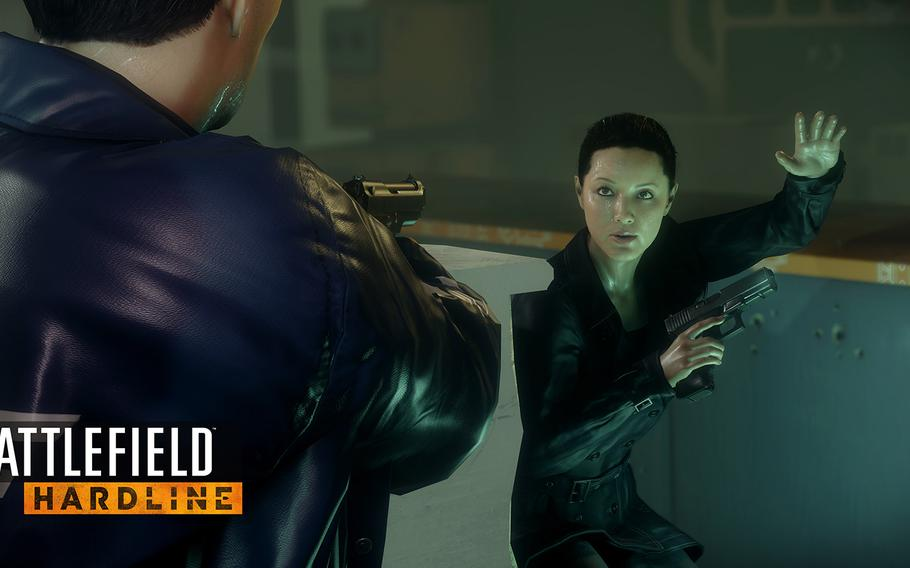 The game offers some new elements that are in tune with police work. You use an electronic scanner to search for clues and tag bad guys for later arrest - or elimination.