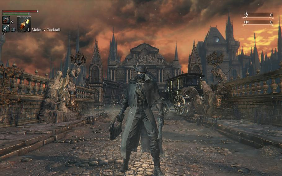 """""""Bloodborne"""" is arguably the best looking game on the PlayStation 4, with tons of minor details that really bring the world to life."""