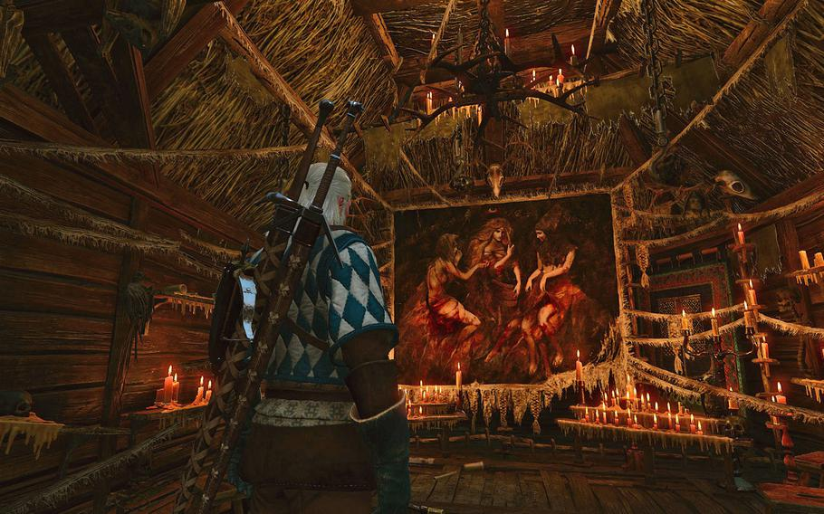 """The world of """"The Witcher 3: Wild Hunt"""" is a dark one, filled with ancient beings and even older magic."""