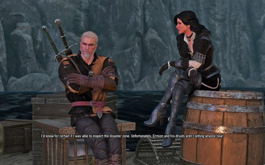 """""""The Witcher 3: Wild Hunt"""" wraps up the story of Geralt of Rivia and Yennifer, though the endings change drastically depending on the decisions made throughout the game."""