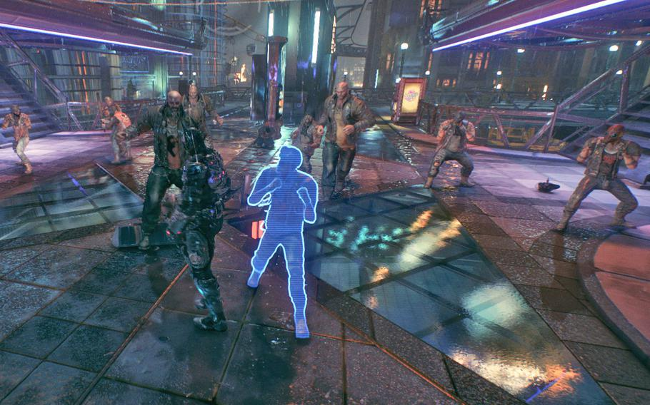 """The combat in """"Arkham Knight"""" is pretty indistinguishable from the fights in the past game. Batman does get a couple of new moves that bring some new elements to the fight, but overall the flavor and mechanical difference is negligible."""