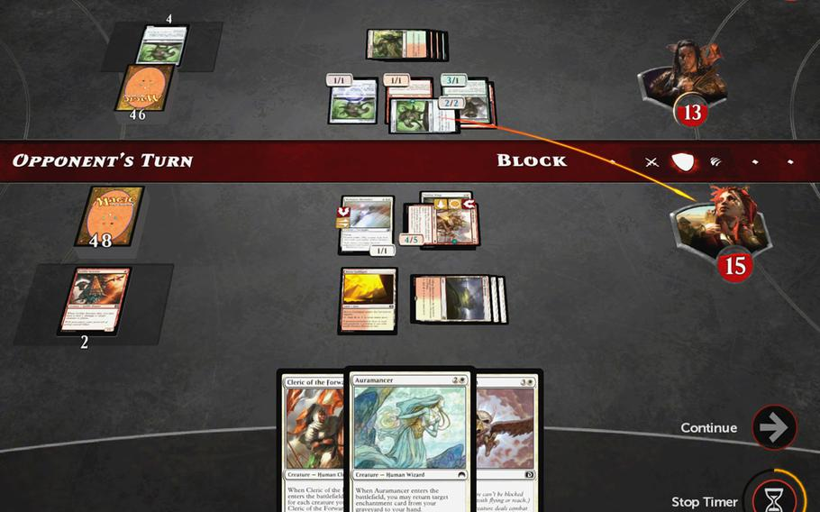 """""""Magic Duels"""" is the first free-to-play version of the wildly popular collectible card game """"Magic: the Gathering."""""""