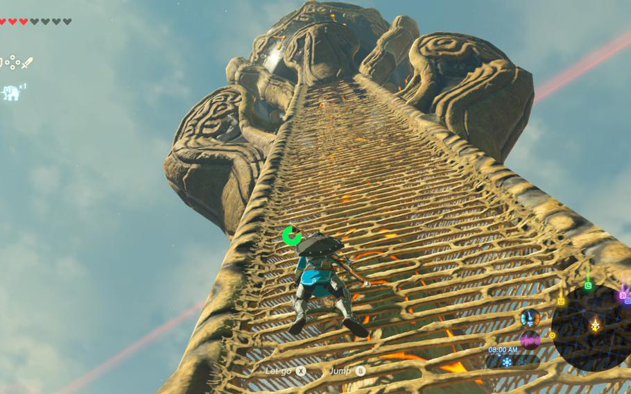The Legend of Zelda: Breath of the Wild avoids much of the general unpleasantness that comes with boring open world game design, but there is no getting away from climbing towers to unlock points of interest.