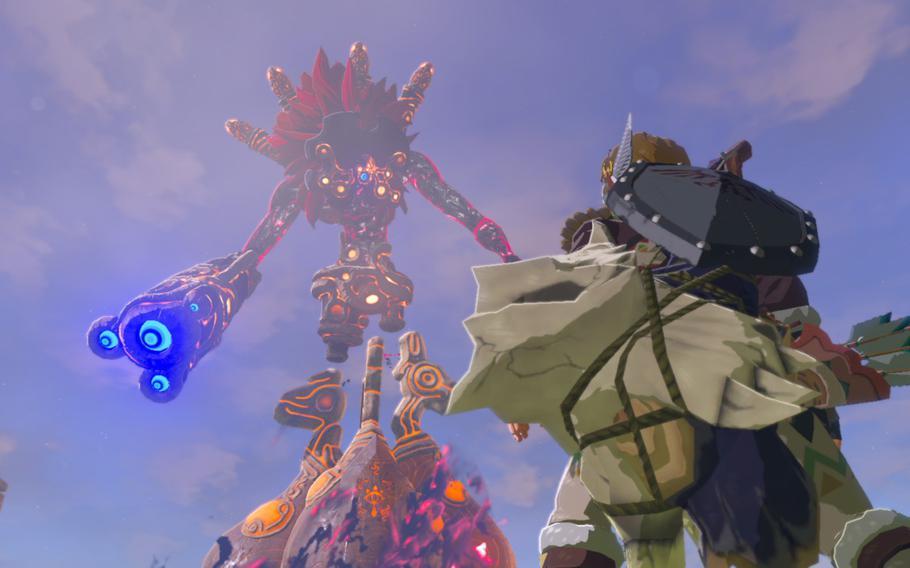 "Bosses in ""The Legend of Zelda: Breath of the Wild"" feel appropriately epic."