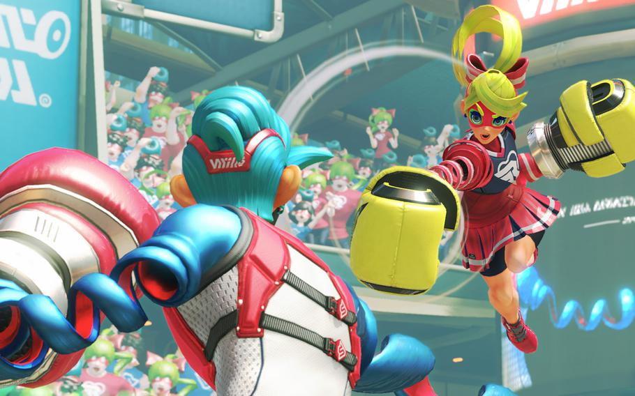 """The cast of Nintendo's """"Arms"""" is varied, unique and all have their own traits."""