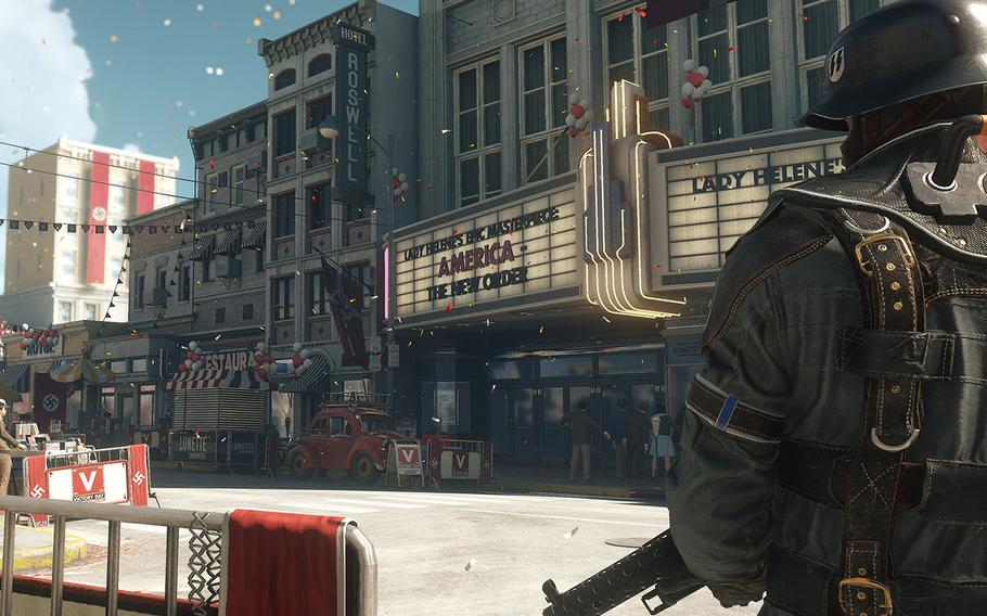 """In """"Wolfenstein II: The New Colossus"""" Once again players will step into the shoes of Nazi-killing terror William """"B.J."""" Blaskowicz as he attempts to single-handedly eradicate the Third Reich."""