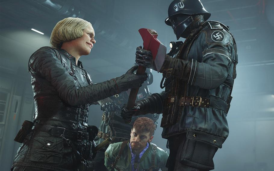 """The Nazis in """"Wolfenstein II: The New Colossus"""" are evil without shades of gray."""