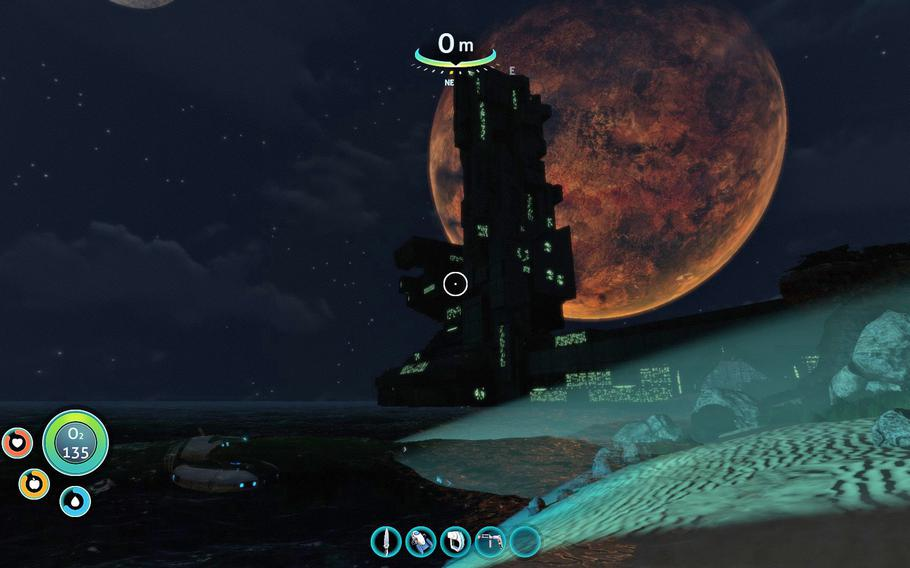 The story of 'Subnautica' unfolds slowly, letting the player dictate much of the pace of play.