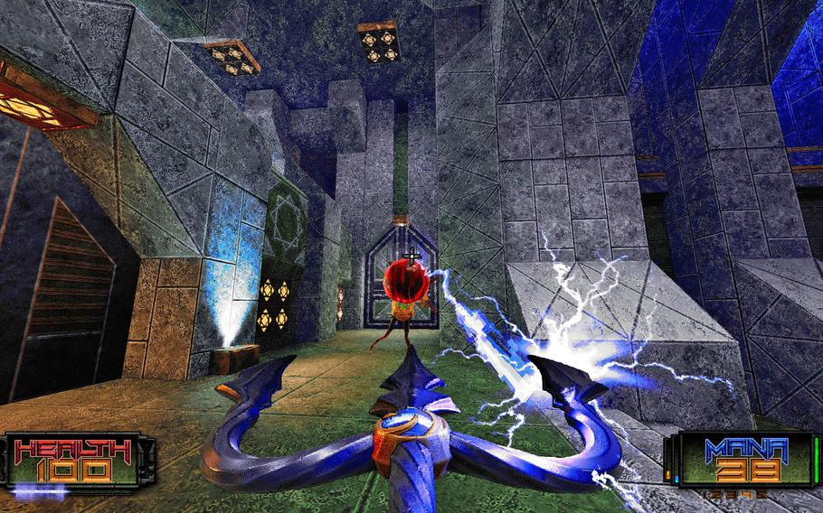 """The level design of """"Amid Evil"""" is top-notch. Each level can be finished in mere minutes but contain enough enemies and secrets to keep players entertained for much longer."""
