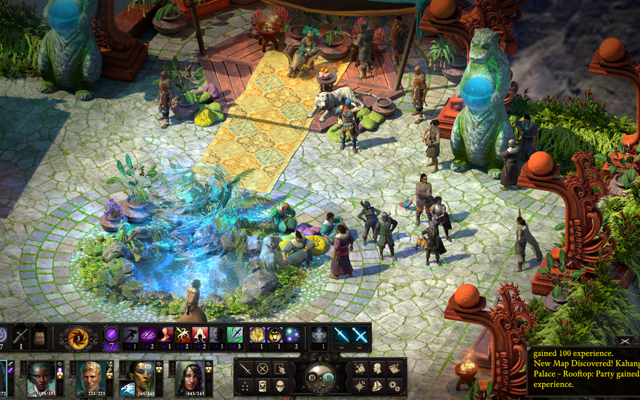 """""""Pillars of Eternity II: Deadfire"""" breaks from the traditional roleplaying game settings, with a more tropical, pirate-themed feel. Fans of """"Divinity: Original Sin II"""" will feel right at home."""