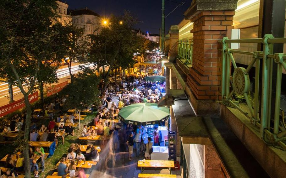 Nightwalk 21will bring arts and music to Vienna after hours on Aug. 25.