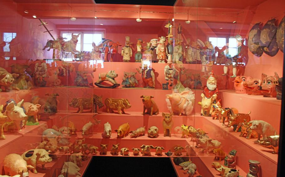 These little piggies are just some of the 50,000 pieces of memorabilia honoring the history and importance of swine at the Schweine Museum in Stuttgart, Germany.