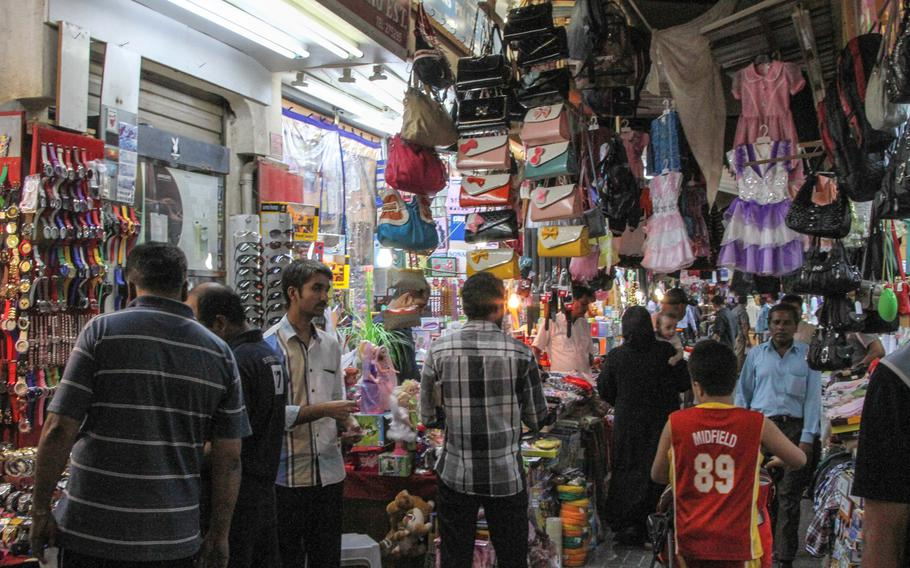 The Manama Souq has many narrow and chaotic streets and alleys featuring a variety of items with negotiable prices.