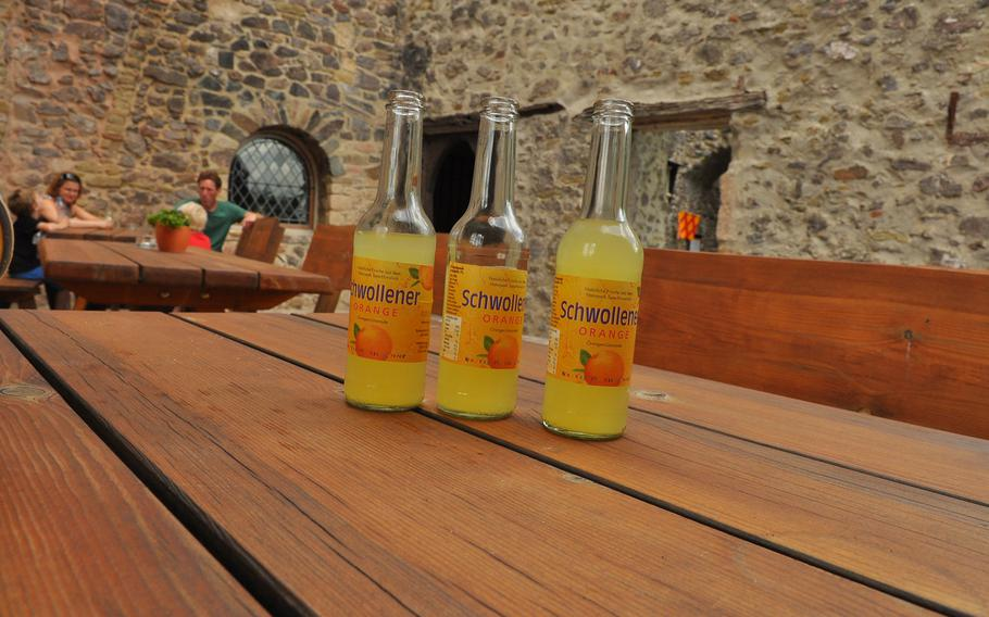 The refreshing reward for the climb to Oberstein Castle, in Idar-Oberstein, Germany.
