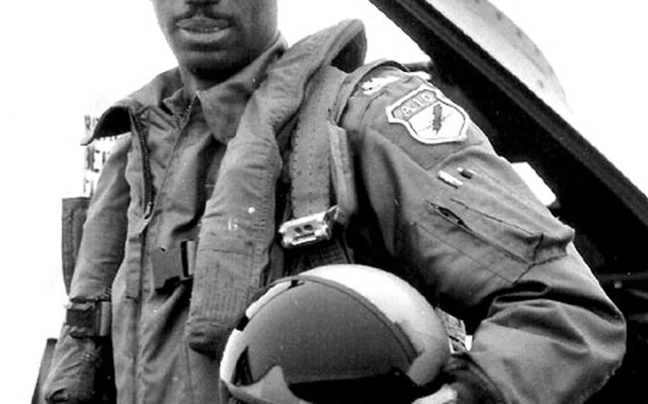 Despite decades of recruitment attempts, the Air Force has been unsuccessful in significantly increasing its number of black pilots, says Air Force Reserve Brig. Gen. Leon Johnson, above.