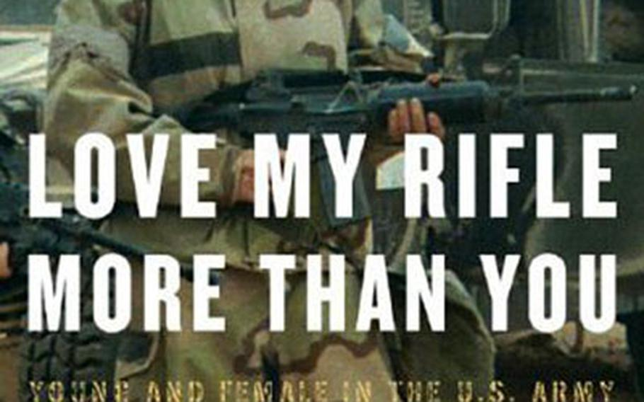 """Kayla Williams speaks for Generation X as she dishes about being a woman deployed to Iraq for a year in """"Love My Rifle More Than You."""""""