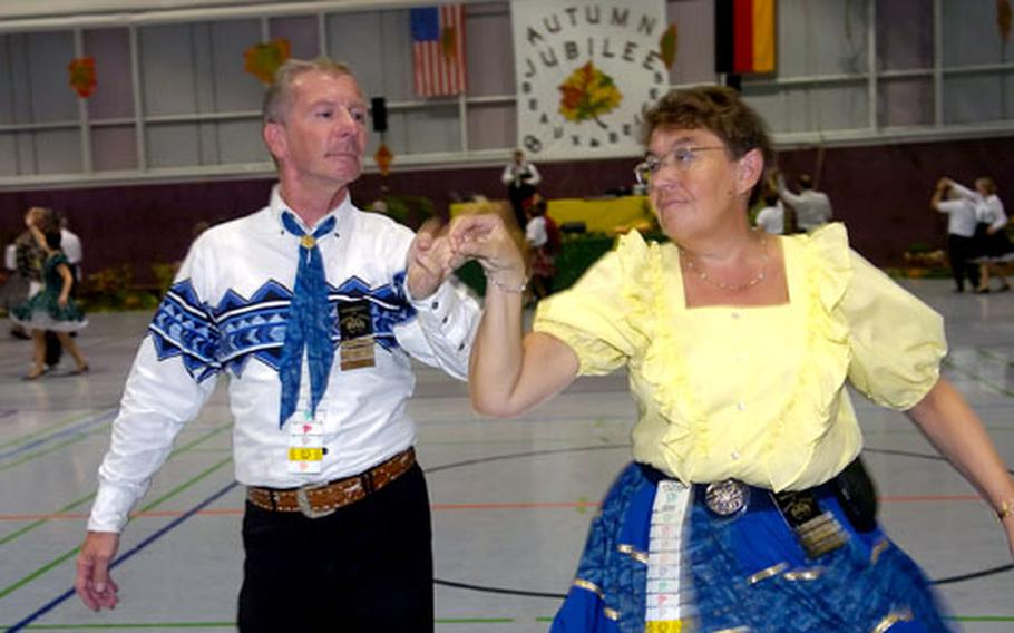 Willy De Spiegeleire and Christiane De Keyser traveled from Belgium to take part in the Autumn Jubilee.