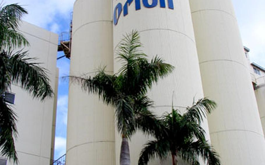The Orion Brewery in Nago produces some 19 million gallons of beer a year — or 30,000 bottles, 132,000 cans and 800 kegs per hour.