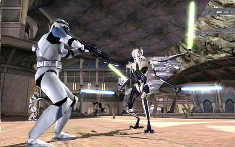 """The main campaign of """"Star Wars Battlefront II"""" tracks the story of the 501st Legion, but its multiplayer mode is what most players will be drawn to."""