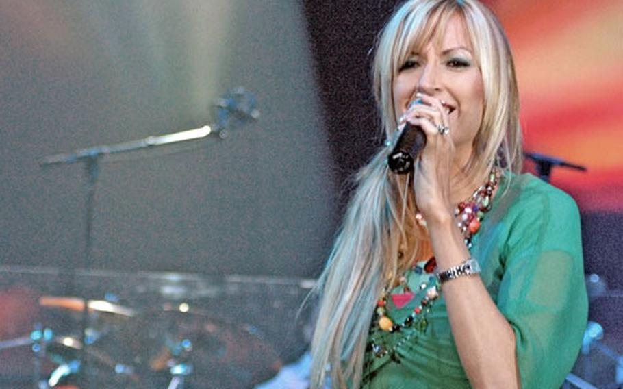 """Worship singer Martha Munizzi is known for her rousing concert performances. Her new CD is titled """"No Limits: Live."""""""