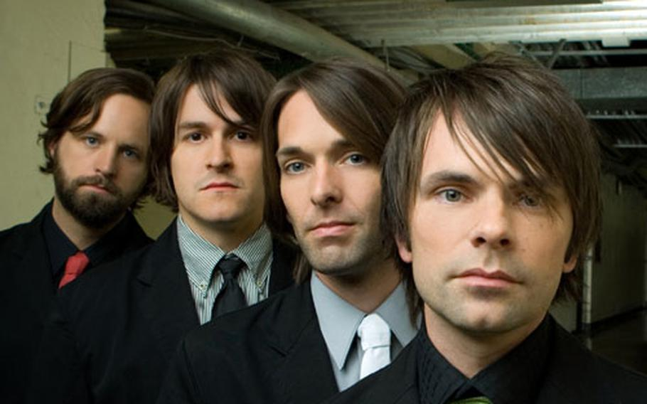 """Jars of Clay's new CD, """"Good Monsters,"""" which marks a return to the band's rock roots."""