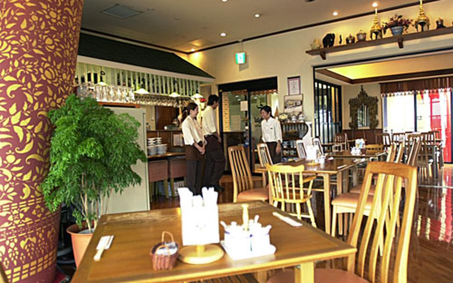 Jai Thai is a relaxing Thai restaurant tucked away on the second floor of Carnival Park Mihama in American Village in Chatan, Okinawa.
