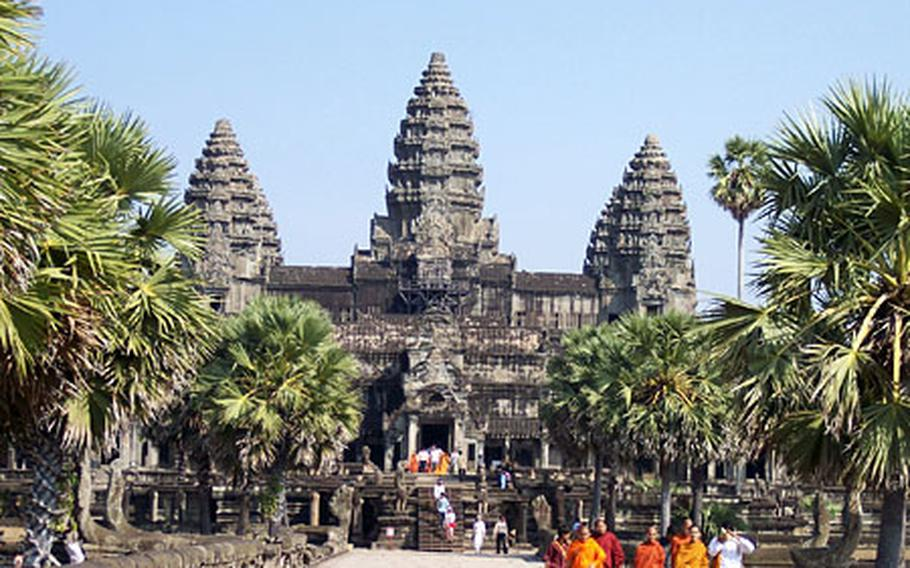 An up-close and personal view of Angkor Wat