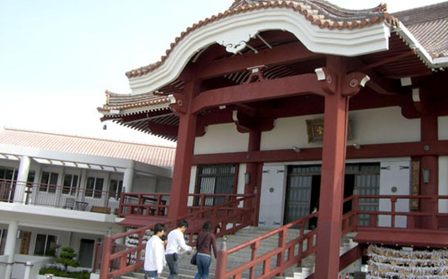 Rinzai sect Zen temple Kannon Do was built in 1618 by King Sho of the Ryukyus. It is one of 16 Zen temples on Okinawa.