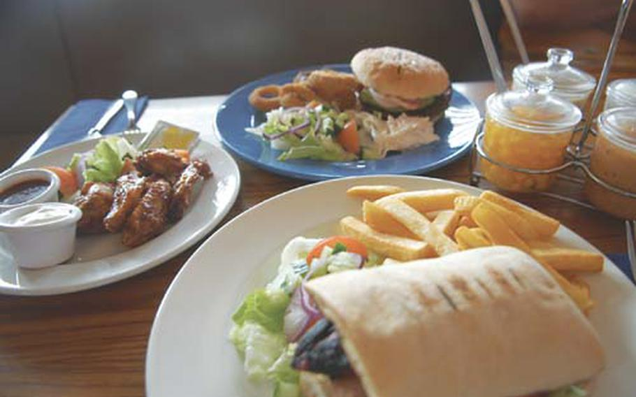 A bevy of delicious American-style entrees are available at Arbuckles American Diner in Downham Market.