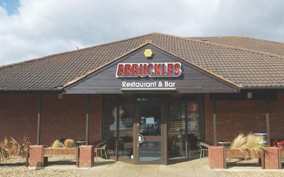 Arbuckles sits right on the A10, a mere 30-minute drive from RAFs Lakenheath and Mildenhall.