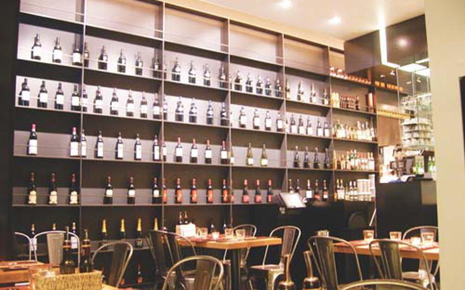Obika occupies a bright, chic space in the Roppongi Hills shopping center and has an extensive wine selection. Obika's chef incorporates mozzarella into nearly every dish, but it can also be served by itself.