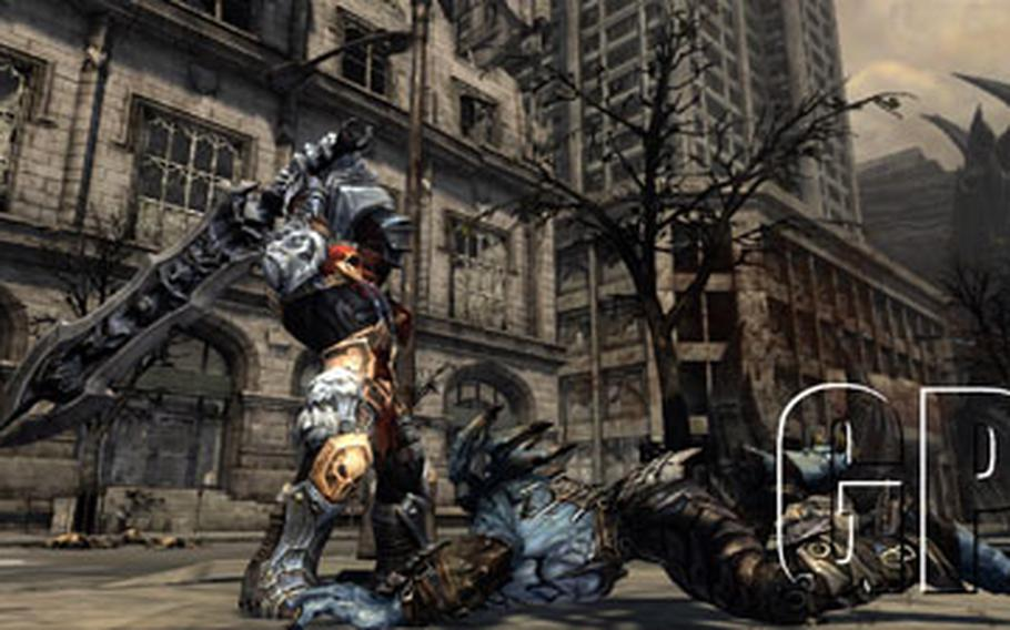 """The protagonist of """"Darksiders"""" is the apocalyptic horseman War."""