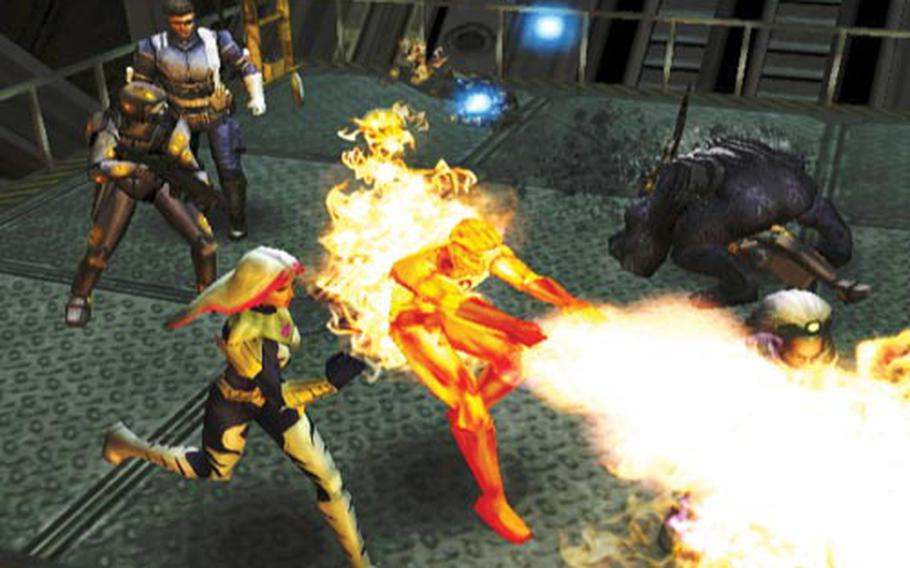"""Marvel's superheroes square off in """"Marvel Ultimate Alliance 2."""""""