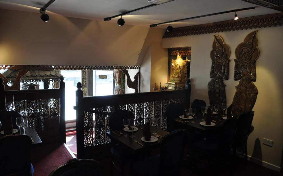 Sangdao Thai Restaurant in Newmarket, just a short ride from RAFs Mildenhall and Lakenheath, offers tasty Thai food in a tranquil atmosphere.