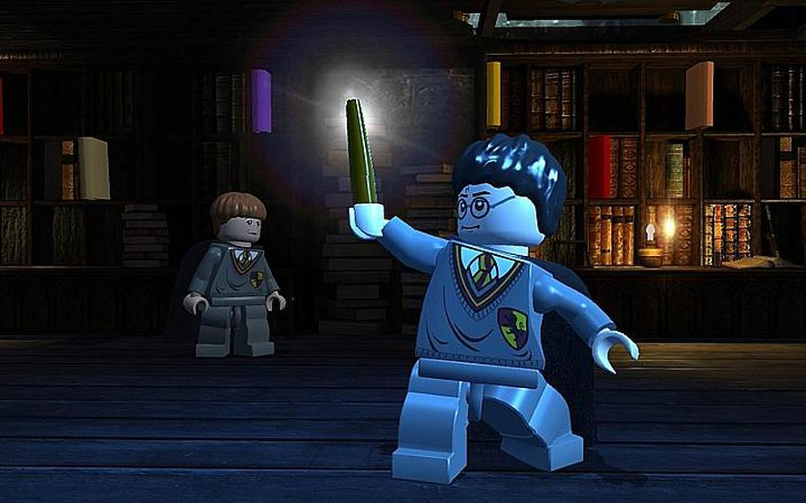 'Lego Harry Potter: Years 1-4' is a lighthearted take on the escapades of the boy wizard.