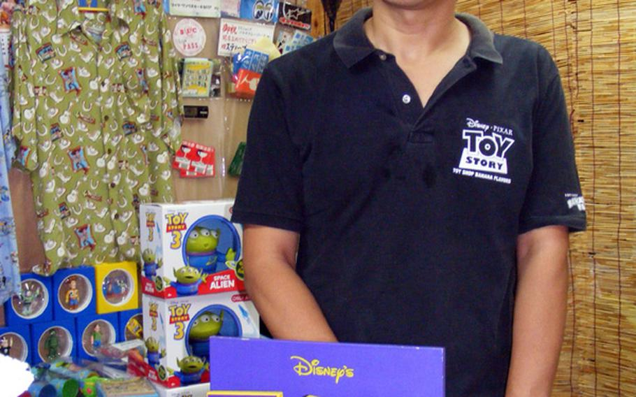 Kentaro Ishihara says adults get as much of a kick out of his 'Toy Story' collectibles shop as their kids.