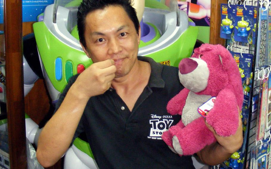 Kentaro Ishihara zips his lip when talking about the plot of 'Toy Story 3.' 'Just bring a box of tissues,' he says.