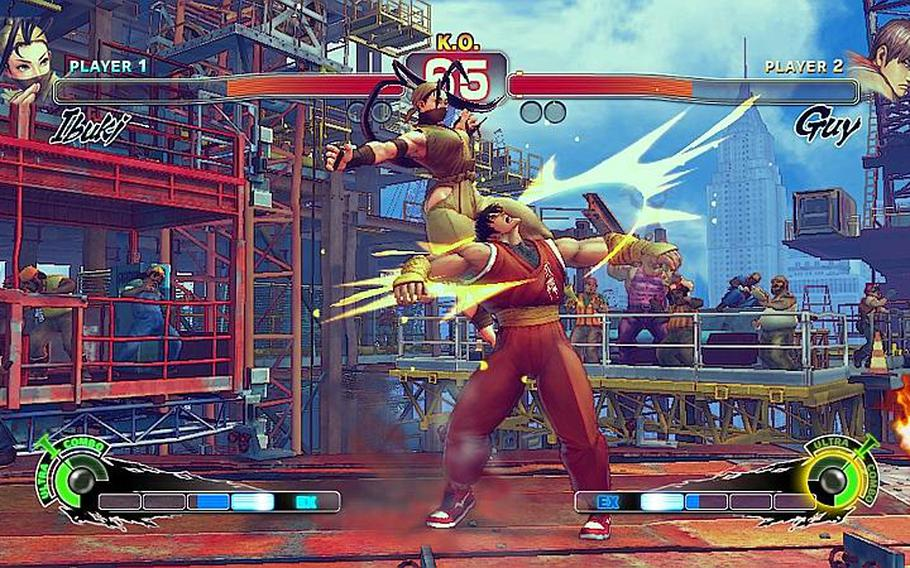 'Super Street Fighter IV' adds to the fun delivered by last year's editions.