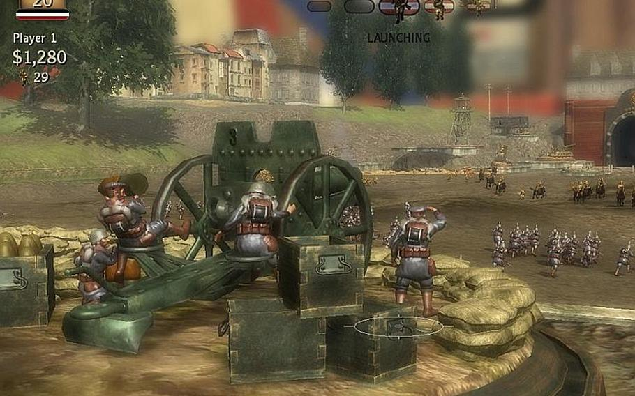 'Toy Soldiers' offers a challenging new spin on the tower-defense genre.