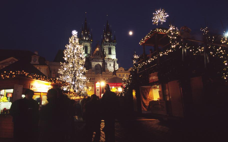 Prague's Old Town Square is the backdrop for the Czech capital's largest Christmas market. Organizers say their market will always stand out from those in neighboring countries because of the square, a perfect location.