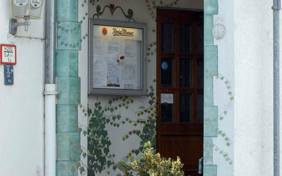 The Gasthaus Zum Engel in the Wiesbaden neighborhood of Erbenheim provides plenty of charm in a relaxed and natural environment.