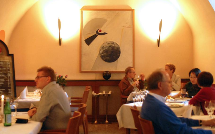 The ambiance inside the Piccolo Mondo's two rooms  is peaceful and understated, and on this Saturday night hosted a relaxed group of diners looking for great Italian food.