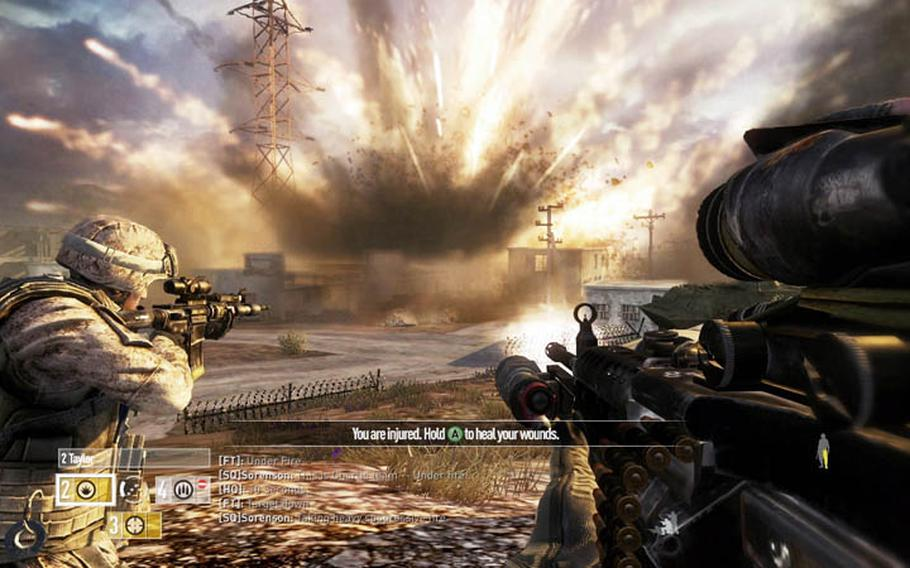 'Operation Flashpoint: Red River' lets you join a Marine fireteam as it battles China's People's Liberation Army.