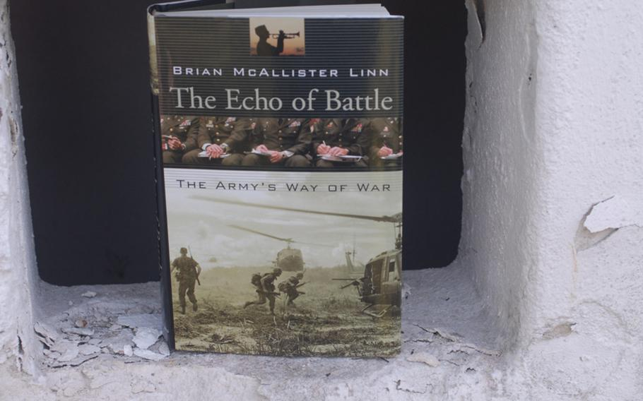 Military historian Brian McAllister Linn's book lists three mindsets that war tacticians generally fall into: The Guardian, the Hero and the Manager.