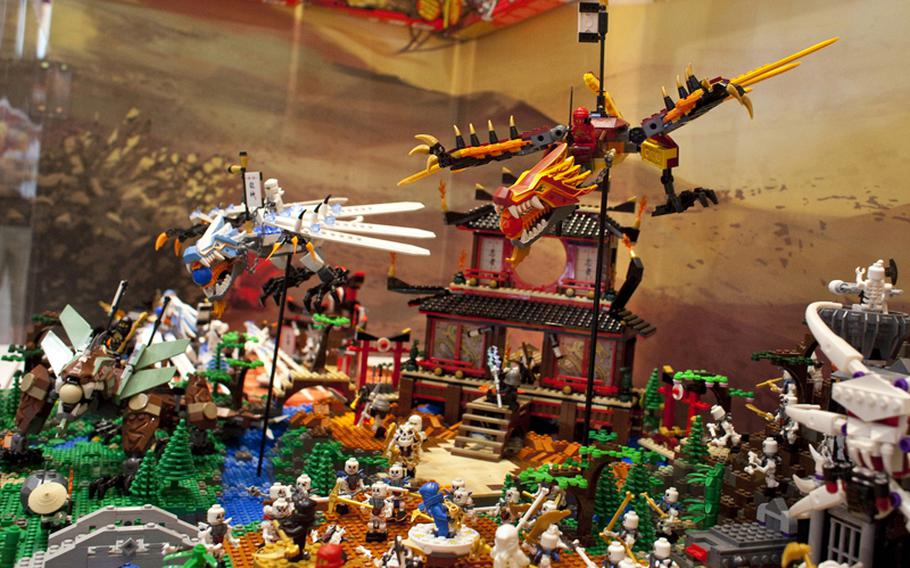 New for 2011 are LEGO's Ninjago sets. There are swords, nunchucks, dragons and ghosts galore in the 14 sets, and other games where you battle other ninjas on spinning platforms. They run $15 to $200, and while some sets are available now, most come out in July.