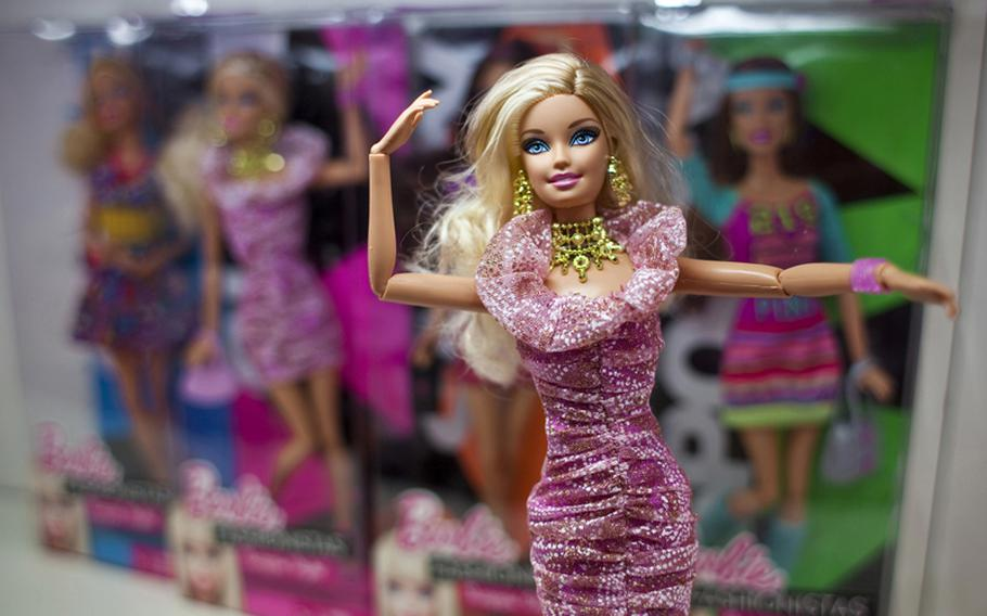 Mattel's Barbie Fashionistas have broken the mold and can now bend arms, legs, and wrists, allowing you to pose her in new fashionable ways.  i.Cost: About $25 ii.Release: Available now, but new Fashionistas come out each season.