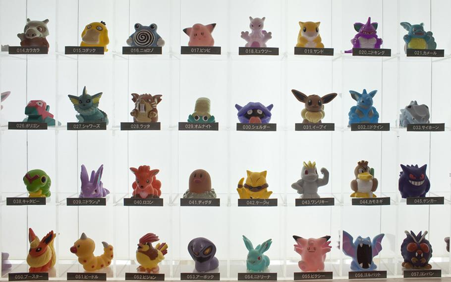 Perennial favorites like Pokemon, Anpanman, Gundam were featured at the 2011 Tokyo International Toy Show.