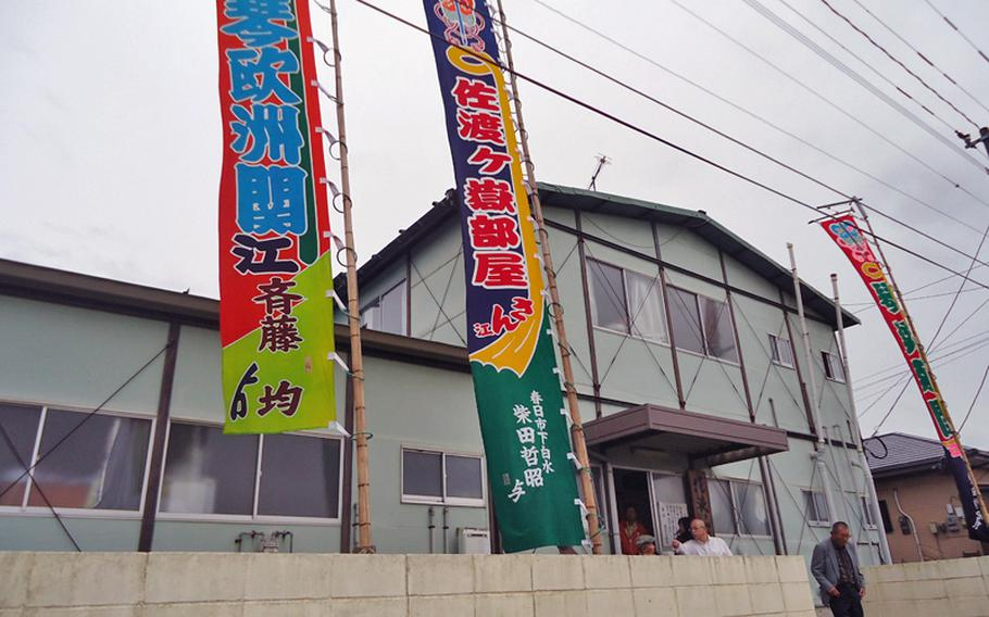 Inside this unassuming building, the Sadogatake sumo stable in Fukuoka develops championship sumo wrestlers.