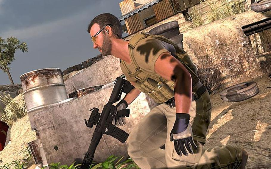 'Blackwater' offers Kinect fans the chance to test their shooting skills.