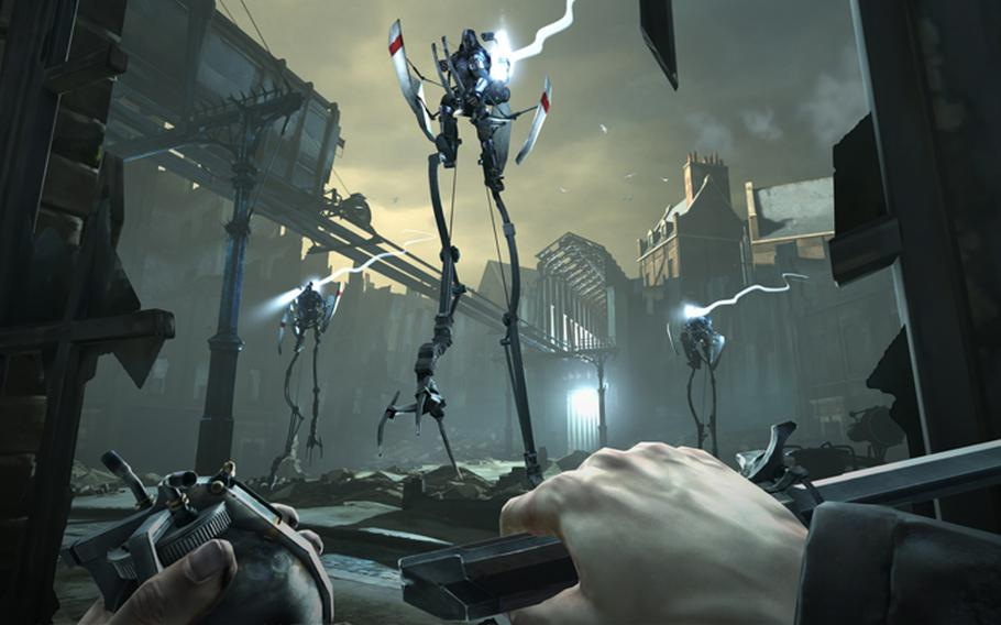 """The choices you make determine the fate of a plague-torn world in """"Dishonored."""" Improvise and innovate to craft your own style."""